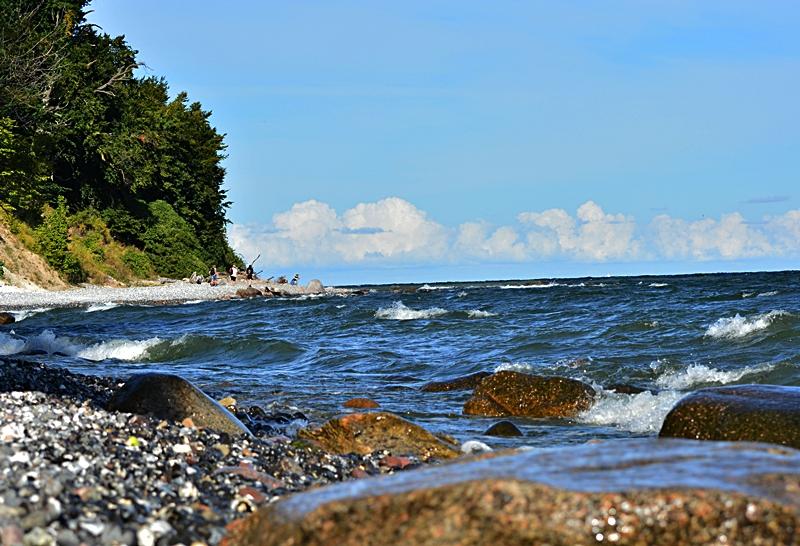 Küstenlinie...