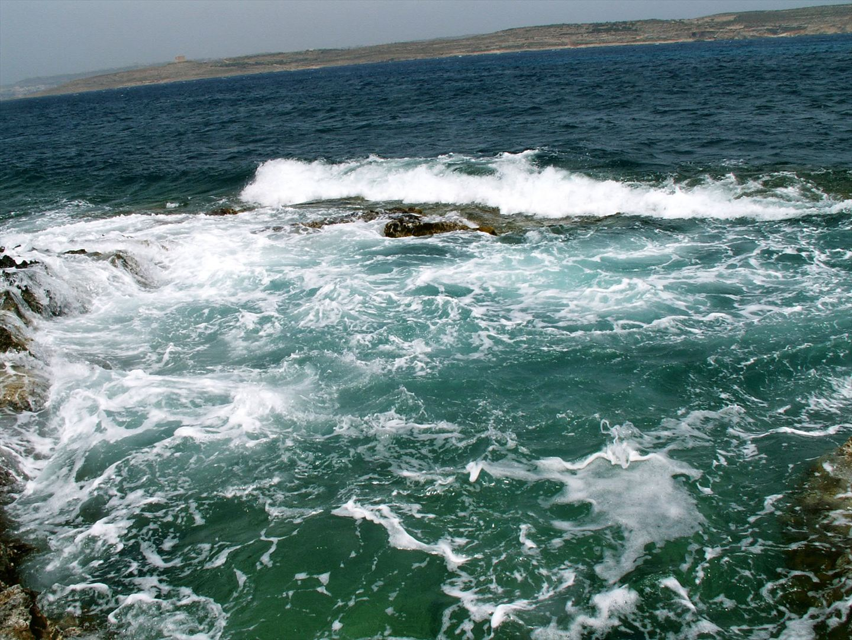 Küstenlinie auf Malta