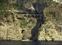 Küstenstrasse La Amalfitana - eine Diva