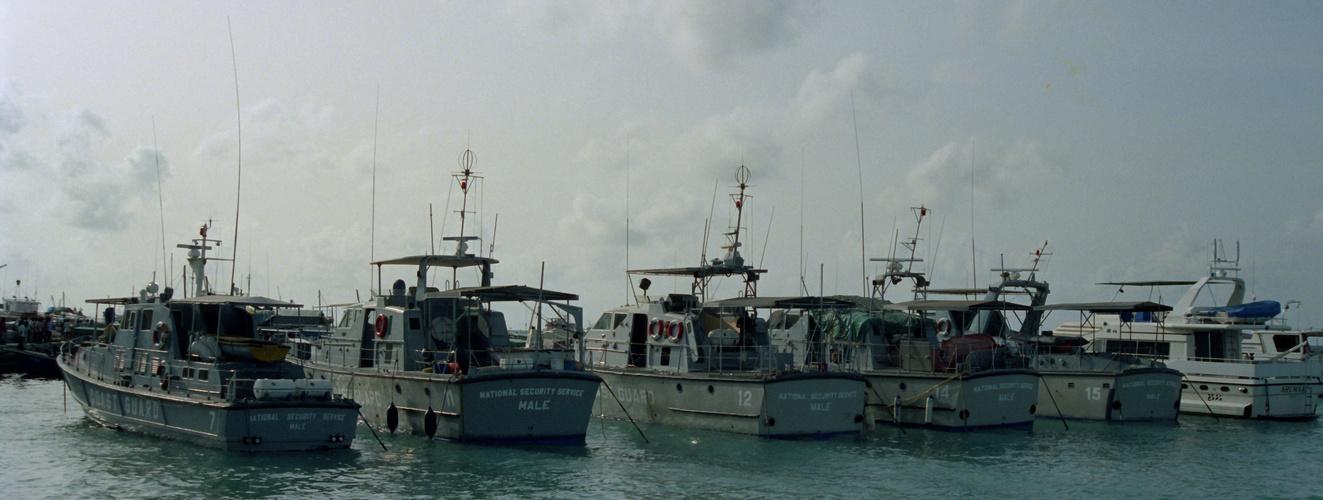 Küstenwache der Malediven