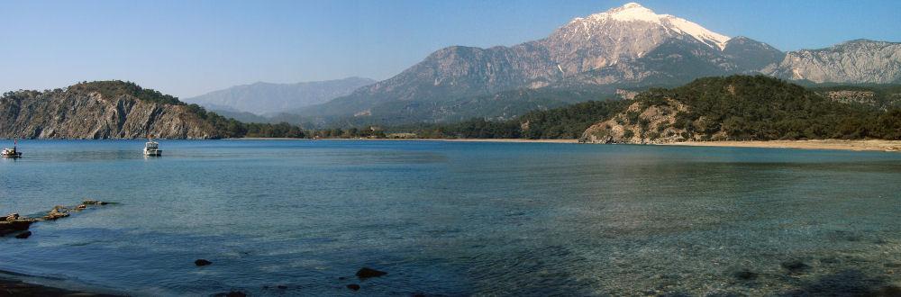 Küstenzug vor dem Olympos