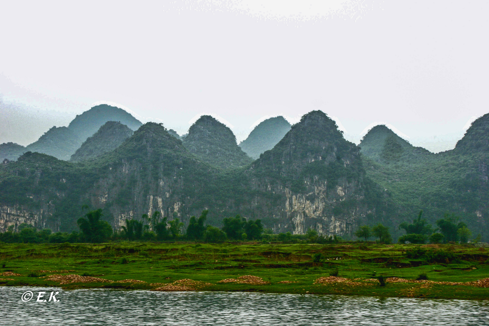 Kugelberge am Li Fluss