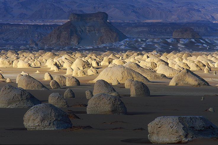 Kugelberge der Weissen Wüste