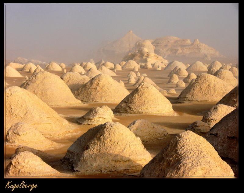 Kugelberge, Weisse Wüste