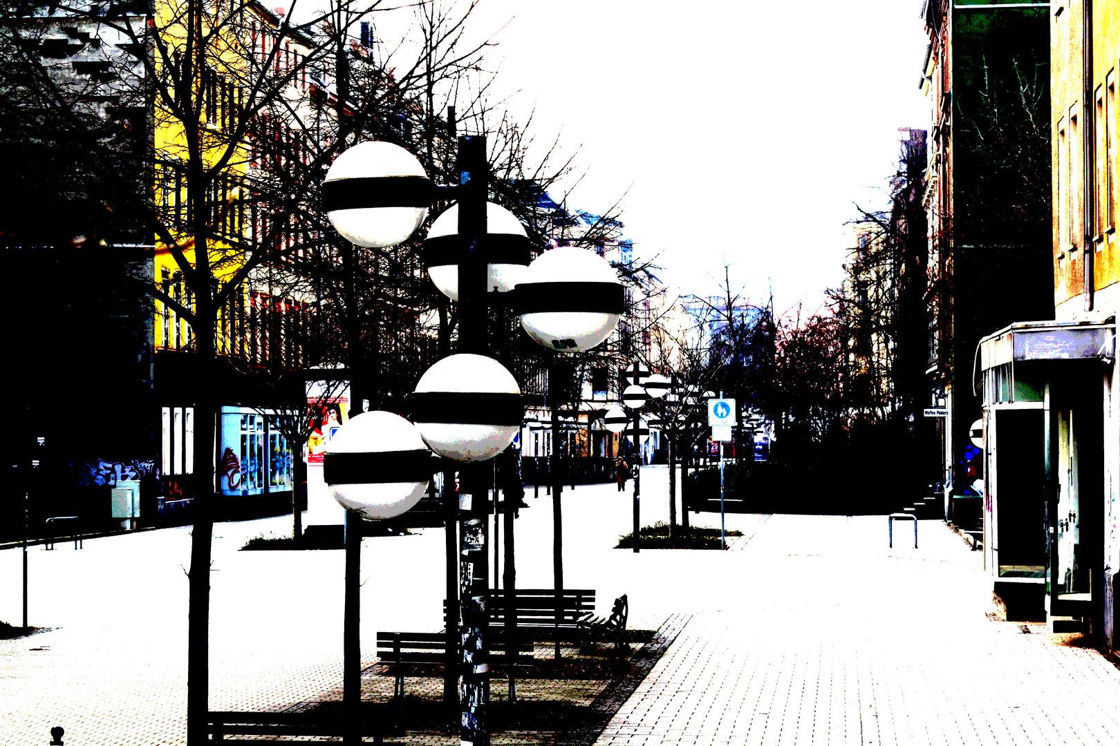 Kugelige Zeitzeugen Chemnitz
