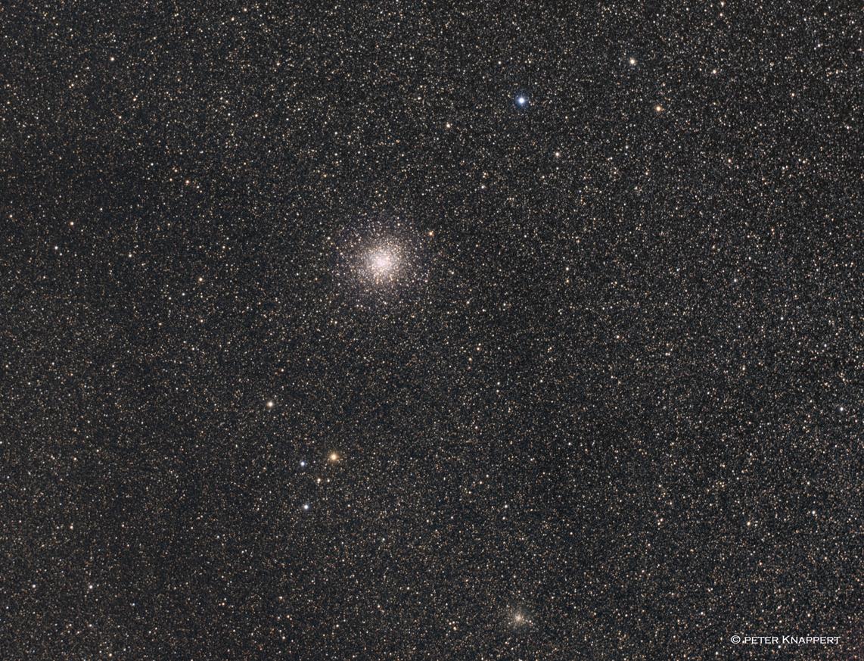 Kugelsternhaufen M22 und NGC6642