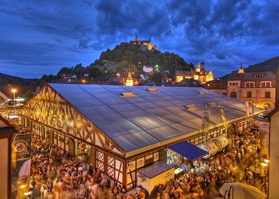 Kulmbacher Bierwoche mit Plassenburg