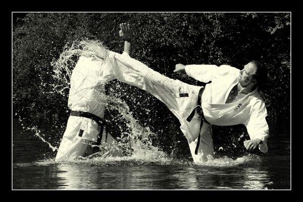 Kumite Training Karate  V