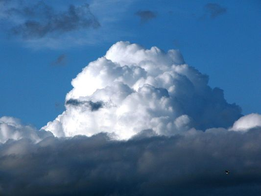 Kumulus Wolke 2