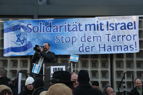 Kundgebung Solidarität mit Israel