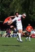 Kung fu auf dem sportplatz