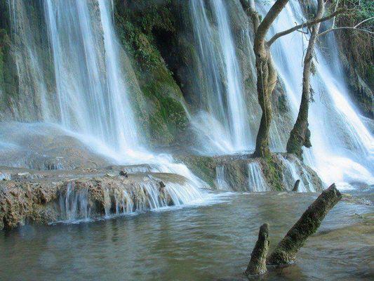 Kung Xi Wasserfall