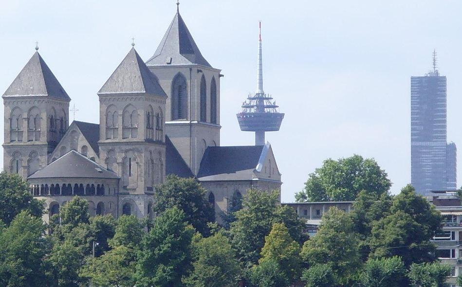 Kunibert, Kolonius und KölnTurm