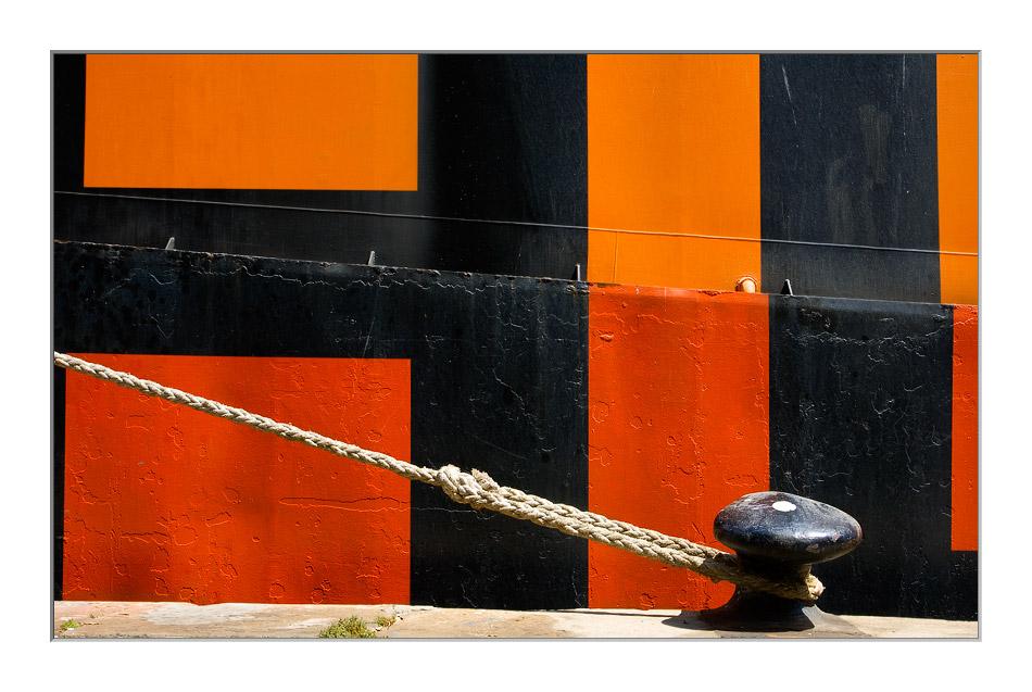 Kunst am Schiff ...