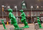 Kunst am ZOB Westerland( Sylt )