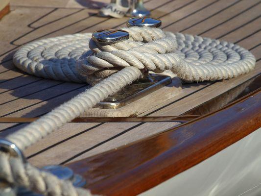 Kunst auf dem Segelschiff