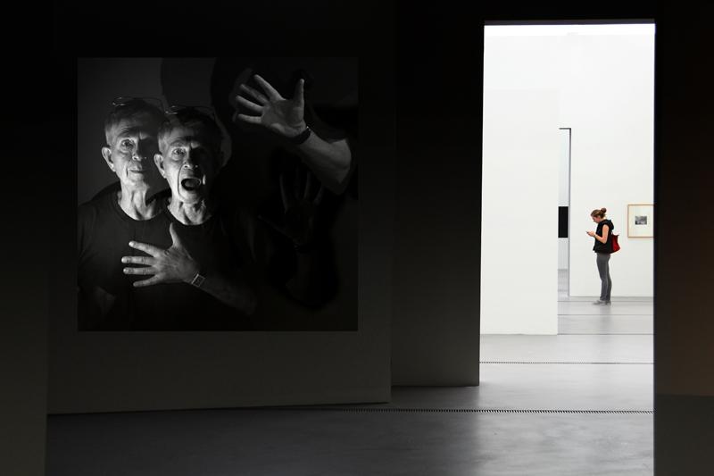 Kunst im Museum.