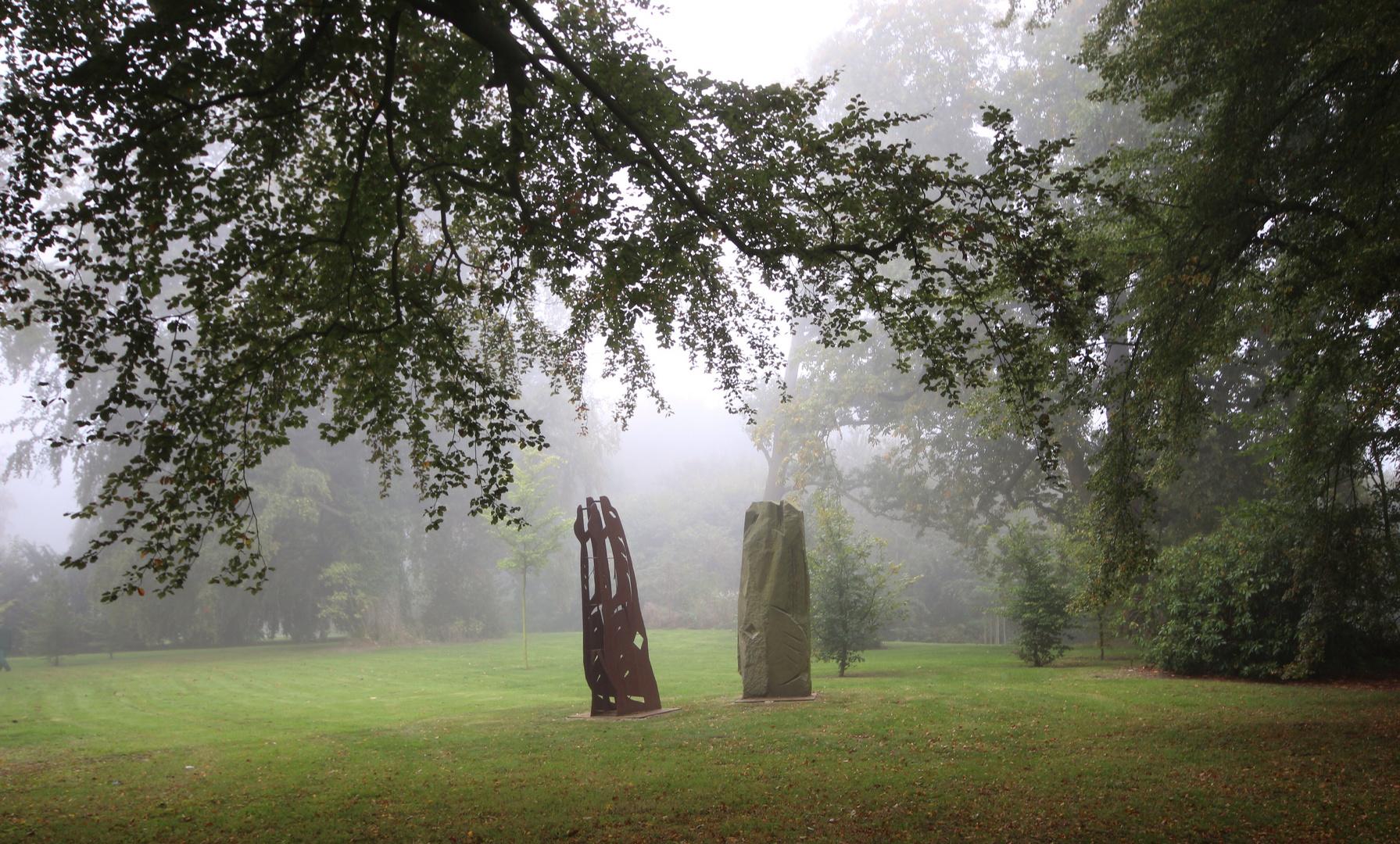 Kunst im Nebel.....