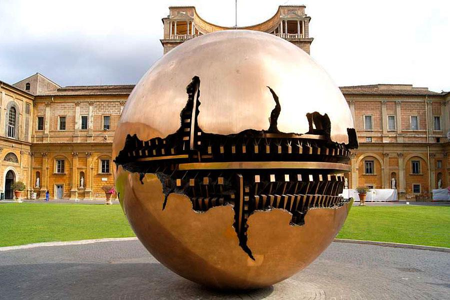 Kunst im vatikanischen Garten