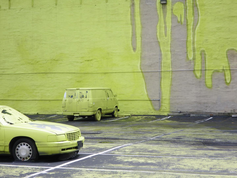 Kunst oder Kommerz? - Werbung für Farbe in  Columbus Ohio