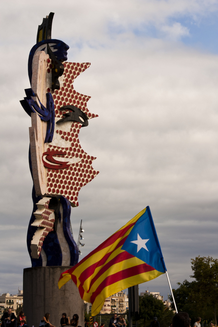 Kunst und Hoffnung Kataloniens