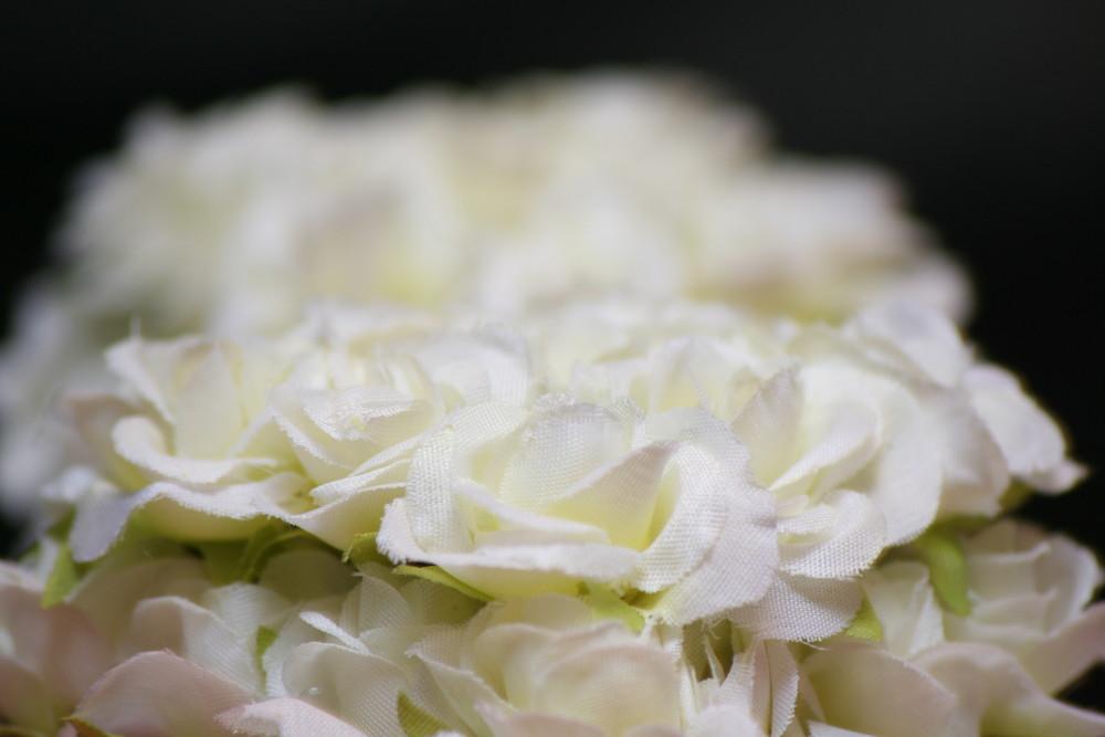 Kunstblume aus reiner Baumwolle :-)