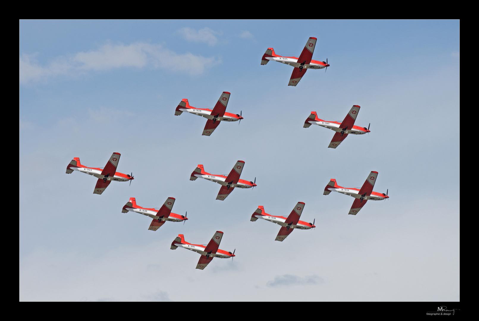 Kunstflug - PC 7 Team