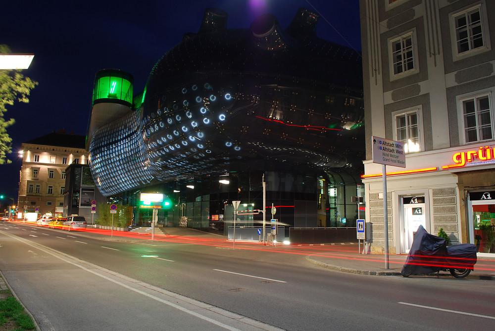 Kunsthaus bei Nacht
