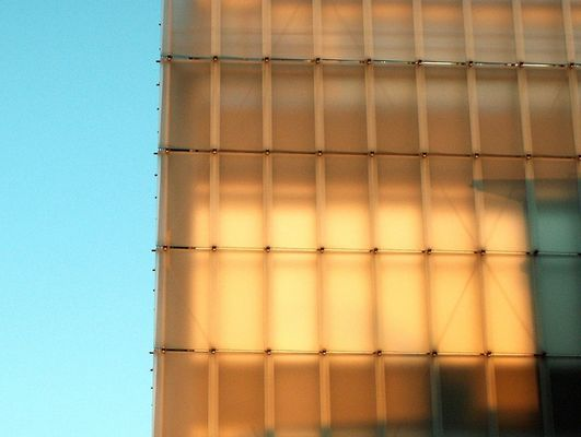 Kunsthaus Bregenz, erleuchtet