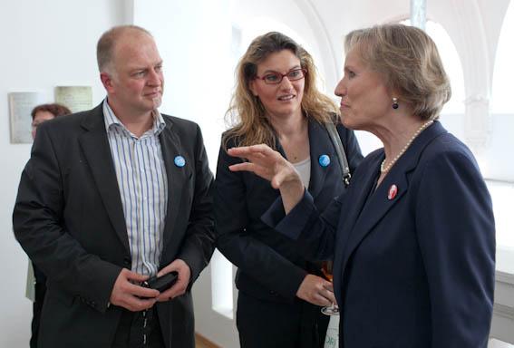 Kunstkennerin Sophie Charlotte Fürstin zu Wied im Gespräch mit Atelier4Foto