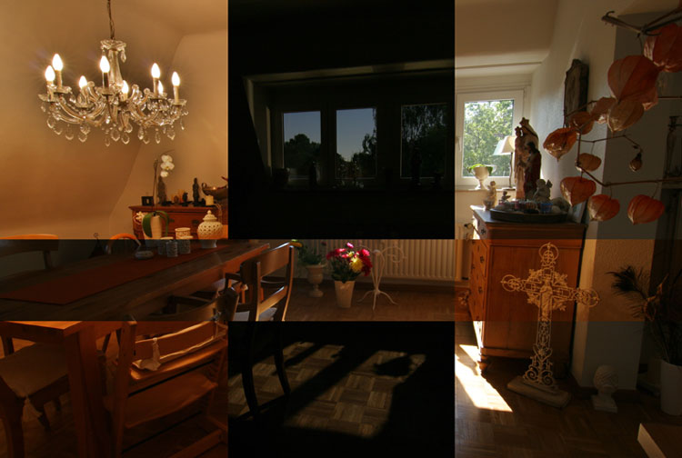 Kunstlicht - Mondlicht - Tageslicht