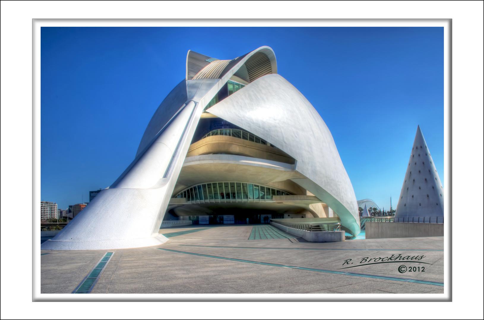 Kunstpalast Königin Sofia in Valencia, Spanien