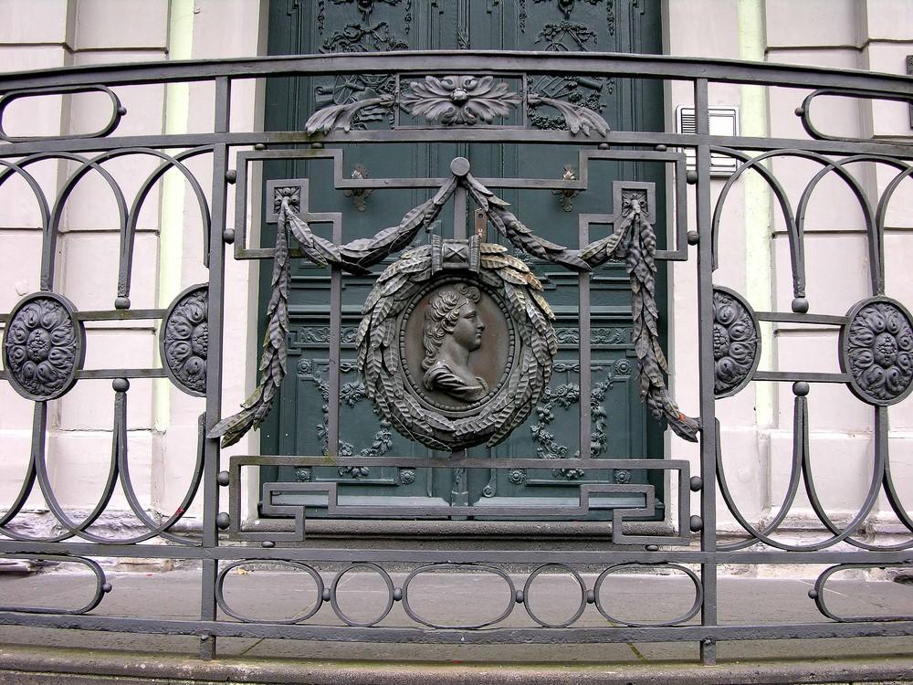 Kunstvolles Gitter in Monschau