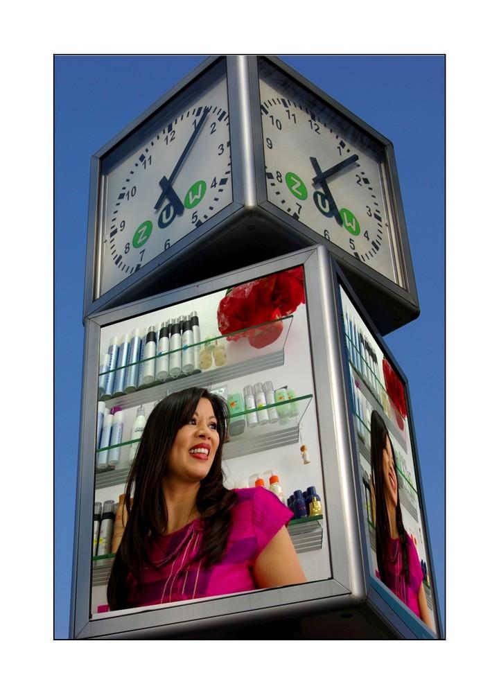 "Kunstwahl : "" 1 minute of life"" Fotomontage 5"