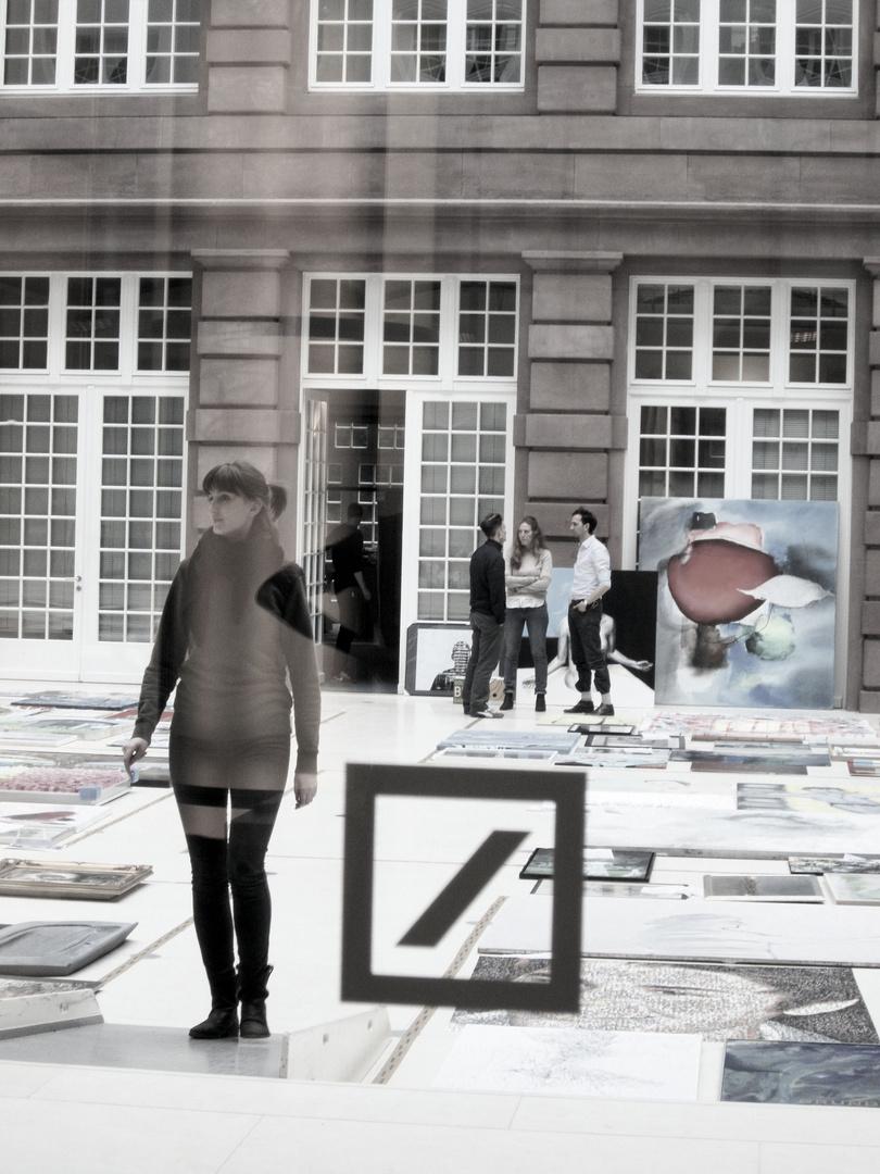 Kunstwerke im Lichthof