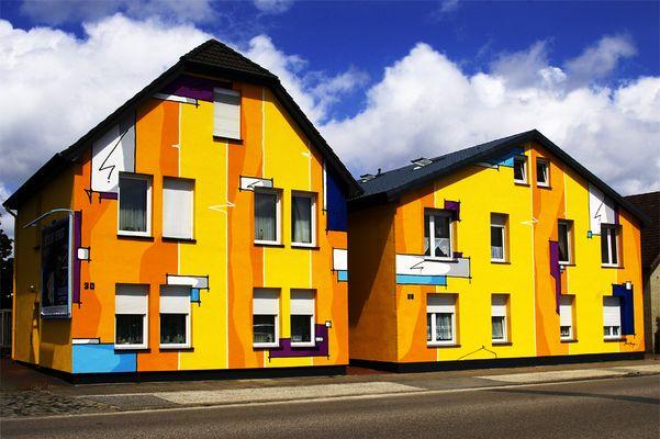 Kunterbunte Häuser