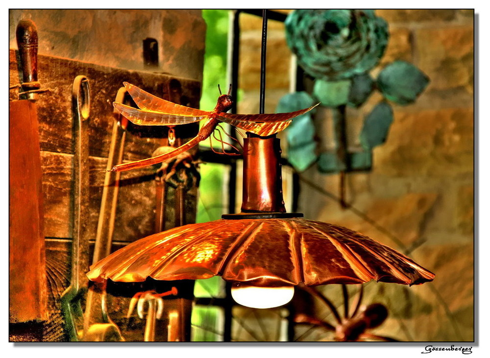 Kupferlampe