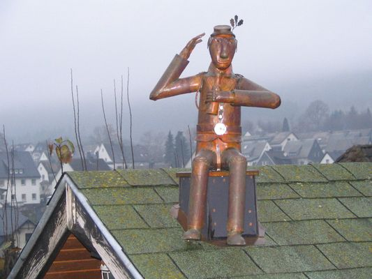 Kupfermännchen in Olsberg