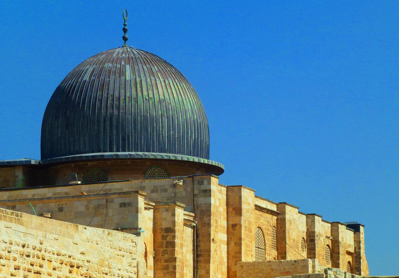 Kuppel der El-Aqsa-Moschee