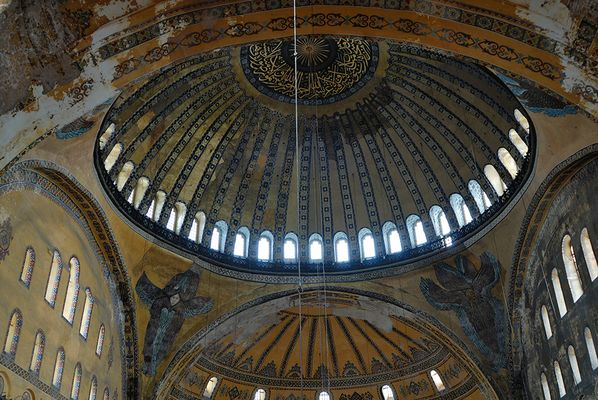 Kuppel der Hagia Sofia