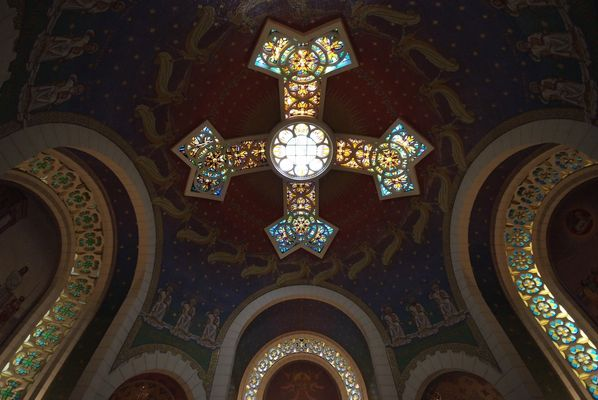 """Kuppel der """"Hahnenschreikirche"""" in Jerusalem"""