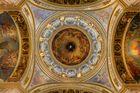 Kuppel der Isa Kathedrale in St. Petersburg - Russland, Nordwestrussland