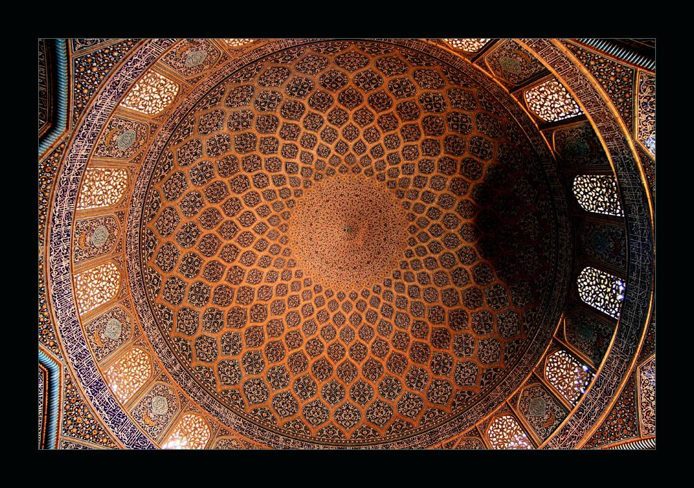 Kuppel der Lotfollah Moschee
