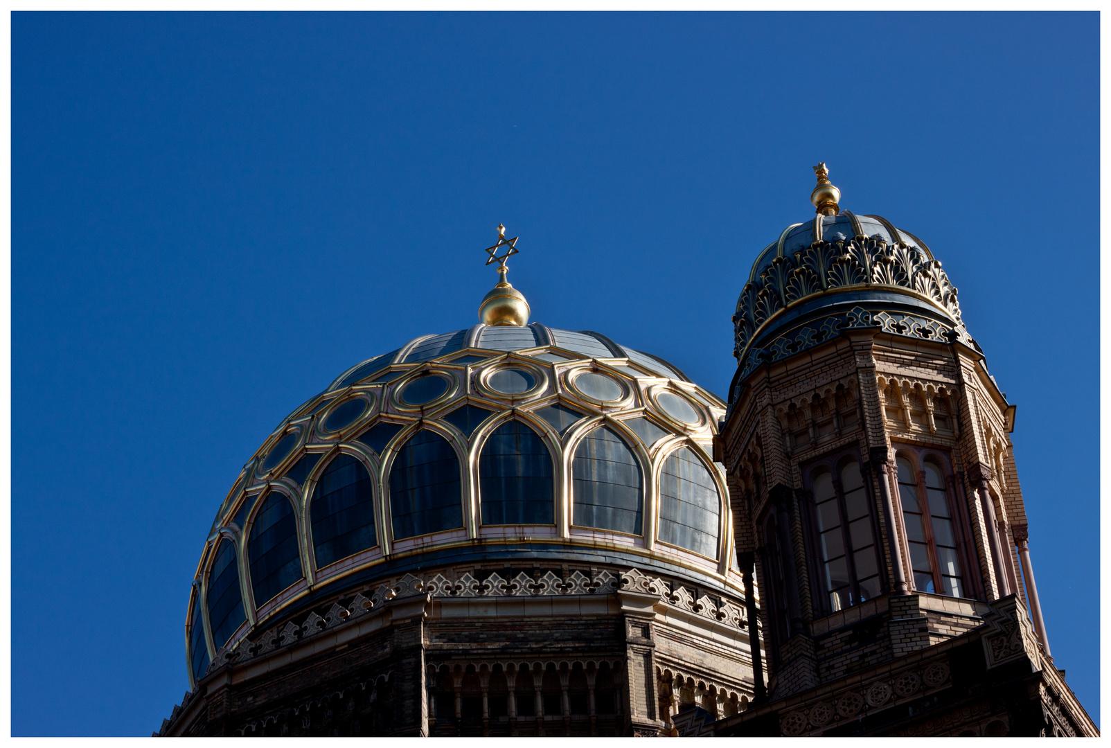 Kuppel der neuen Synagoge in Berlin-Mitte