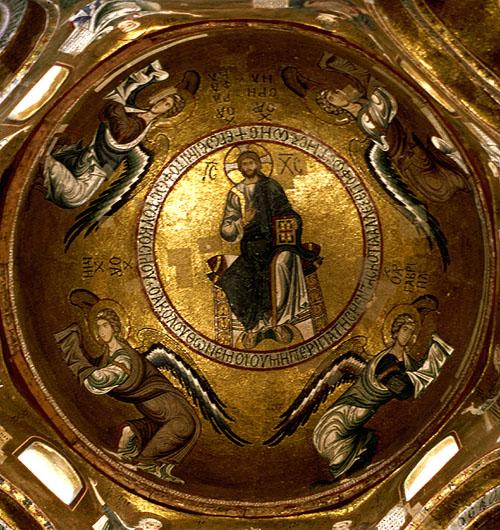 Kuppel der Santa Maria dell' Ammiraglio (Palermo, Sizilien)