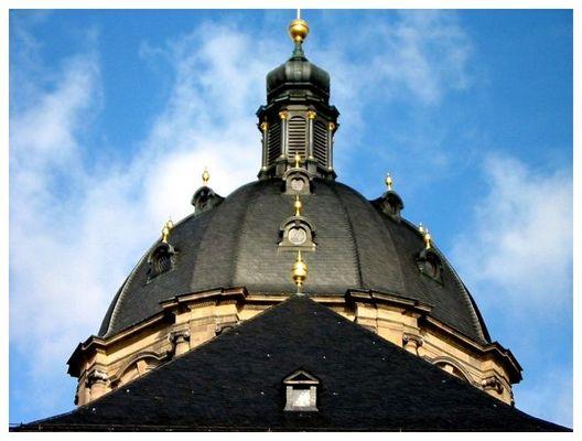 Kuppel des Doms zu Fulda