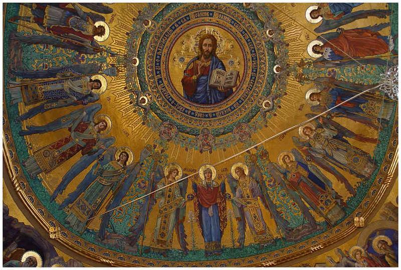 Kuppel einer griechisch-katholischer Kirche in Lugoj - Rumaenien