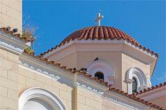 Kuppel einer griechisch-orthodoxen Kirche in Athens