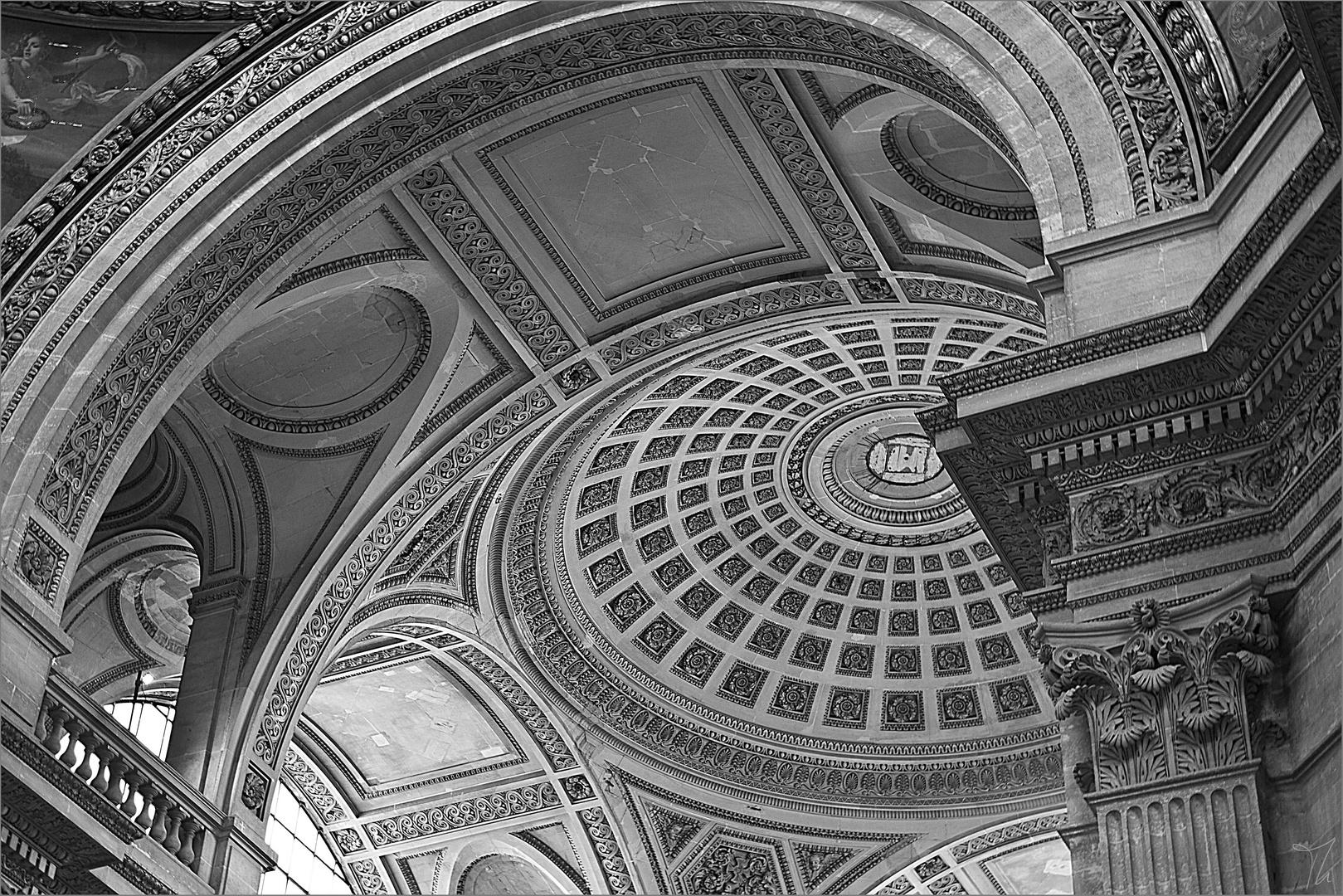 Kuppel im Pantheon in Paris