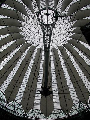 Kuppel Sony-Center Berlin